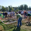 ClimateMaster pond loop training happens under the skillful guidance of master trainer Sean Hogan.