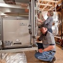 These guys -- customers of the Orios and Water Energy Distributors -- make quick, neat work of geothermal installations.