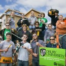 Drury University Habitat for Humanity project.  Dan Frisch photo.