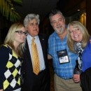 Jay Leno with adoring guests at Bradford White's sales meeting, 2012.