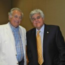 Two of the greatest folks on Planet Earth - Bradford White's Bob Carnevale and Jay Leno.