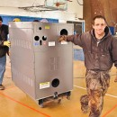 Laars boiler finds a new home at Silverton School in Colorado.
