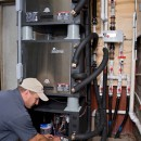 Another geothermal install by Vertex Mechanical.
