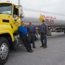 Just some of the guys at Huhtala Oil.