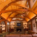 Unique timber framing requires extraordinary comfort conditioning.