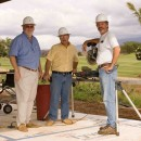 At a condo development/jobsite on Maui - all homes conditioned by Fujitsu.
