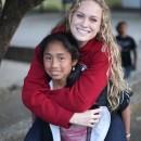 Volunteer spirits are lifted in Guatema at Casa Para Niños.
