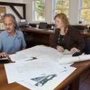 John and Sylvia make sure the bid is tight and orderly.